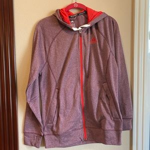 Adidas zip-up warm hoodie size small